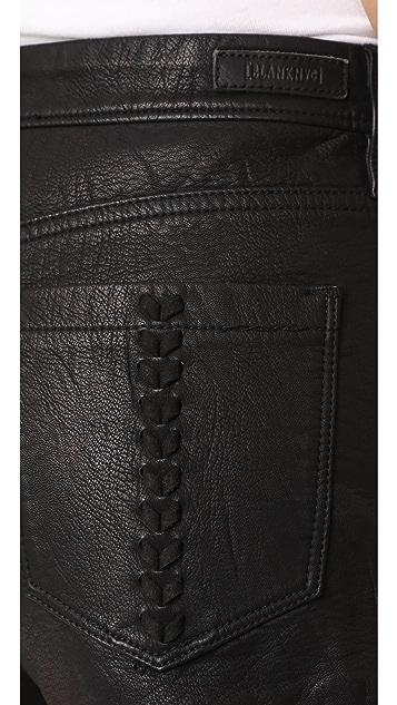 Blank Denim Lace Of Ex 超短裤