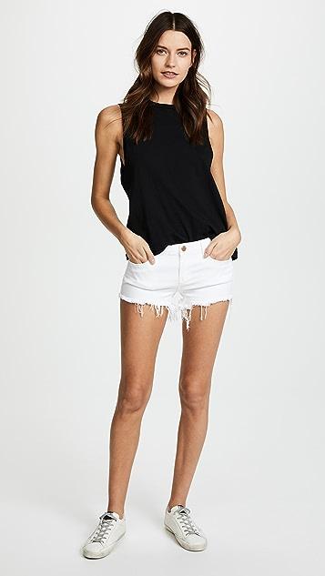 Blank Denim 超短裤