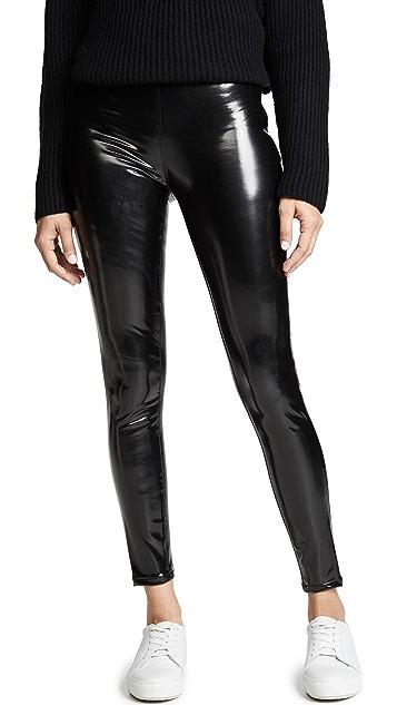 Blank Denim 乙烯树脂套穿贴腿裤