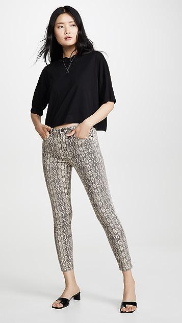 Blank Denim 蛇纹牛仔裤