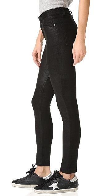 BLK DNM 皮质裤子 22