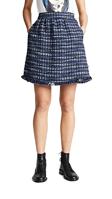 Boutique Moschino 花呢半身裙