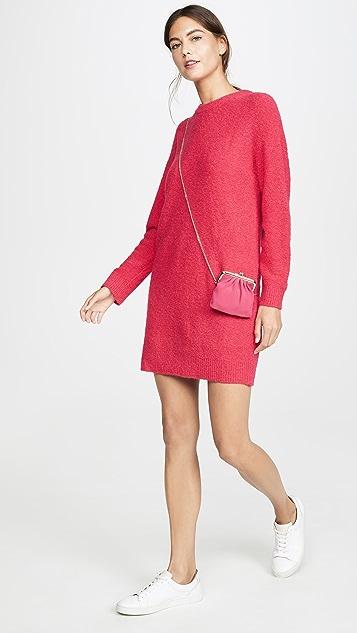 Boutique Moschino 长袖毛衣连身裙