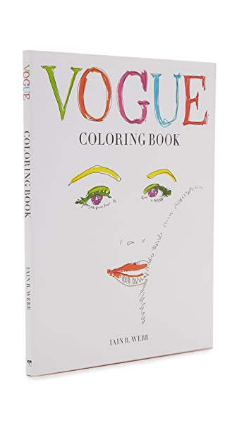 Books With Style Vogue Coloring Book