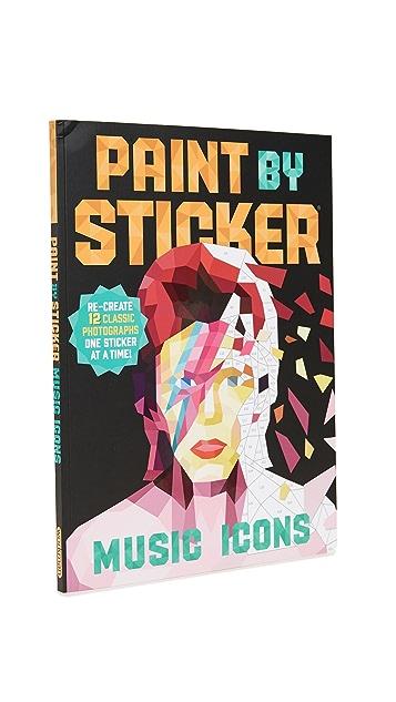与书为舞 Paint By Stickers: Music Icons