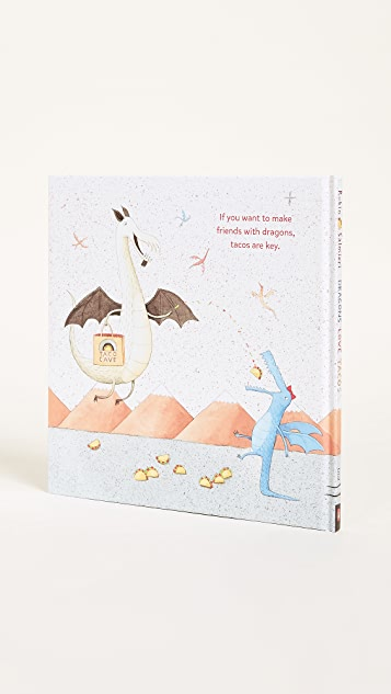 与书为舞 Dragons Love Tacos 书&玩具套装