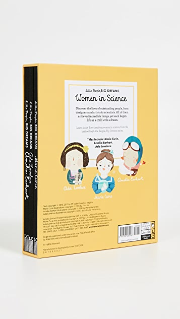 与书为舞 Little People Big Dreams Women in Science Box Set