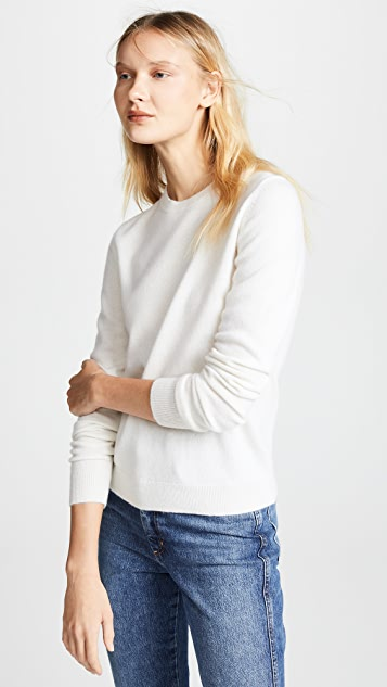 Bop 基础款 方形开司米羊绒针织衫