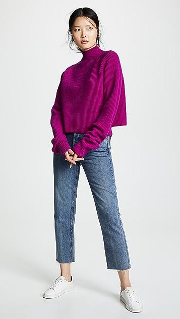 Borgo de Nor 羊毛高领针织衫