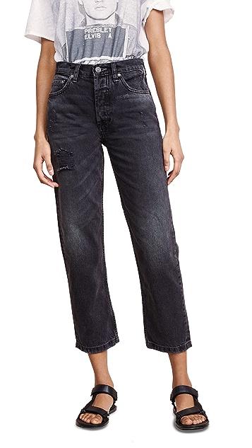 Boyish Tommy 高腰直筒牛仔裤