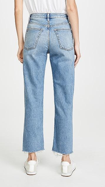 Boyish The Tommy 高腰直筒牛仔裤