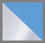 银色/海军蓝