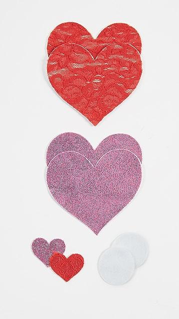 Bristols 6 Love Lace 胸贴