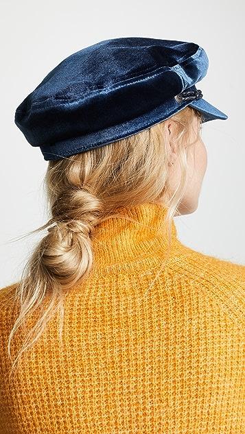 Brixton Ashland 丝绒报童帽