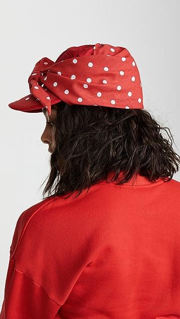 Bernstock Speirs 圆点花纹围巾帽子