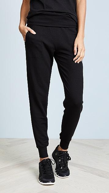 Beyond Yoga 舒适绒布运动裤
