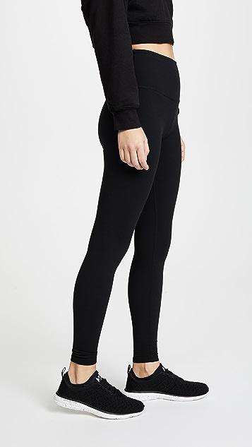 Beyond Yoga Core 高腰中长贴腿裤