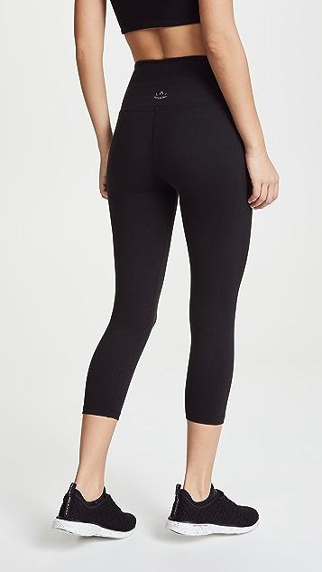 Beyond Yoga Core 高领七分贴腿裤