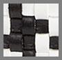 黑白色梭织