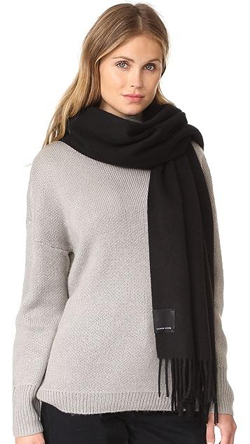 Canada Goose 纯色梭织围巾