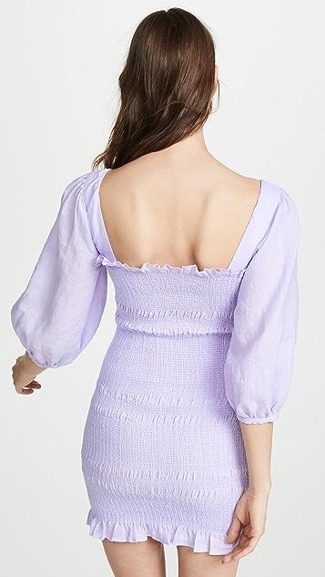Capulet Siobhan 亚麻连衣裙