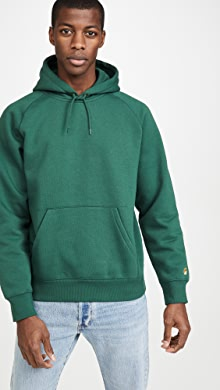칼하트WIP Carhartt WIP Chase Hooded Sweatshirt,Treehouse