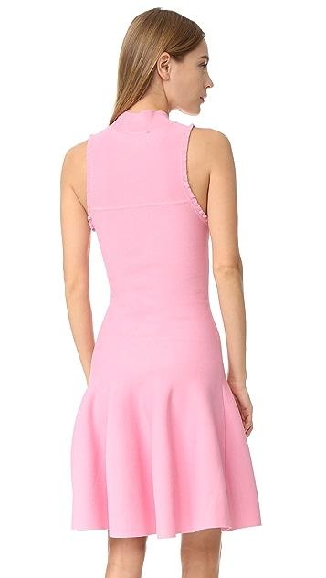 Carven 无袖喇叭连衣裙