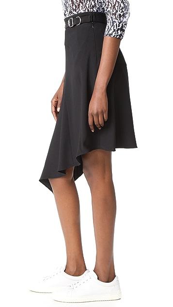 Carven 不对称半身裙