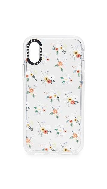 Casetify 花卉 Allie Alpine iPhone X/XS 手机壳