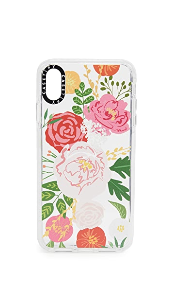 Casetify Jungle Adeline Florals iPhone Xs Max 手机壳