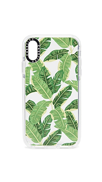 Casetify Jungle Leaves iPhone XR 手机壳