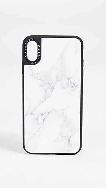 Casetify Marble iPhone Xs Max 手机壳