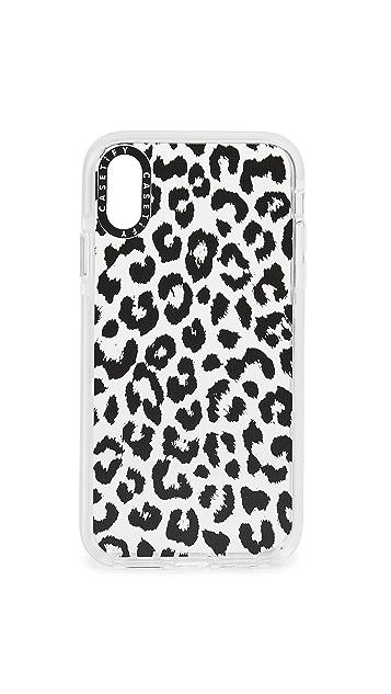 Casetify 豹纹 iPhone 手机套