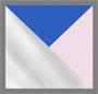 透明色/蓝色/粉色