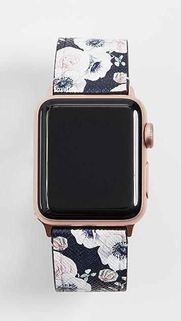 Casetify 十字纹牛皮 Apple 腕表表带
