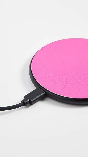 Casetify 荧光色无线充电垫