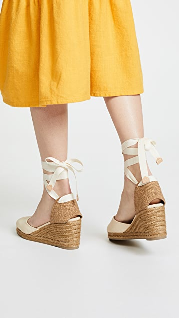 Castaner Carina 85mm 坡跟鞋