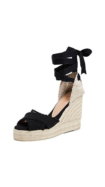 Castaner Bluma 交叉坡跟鞋