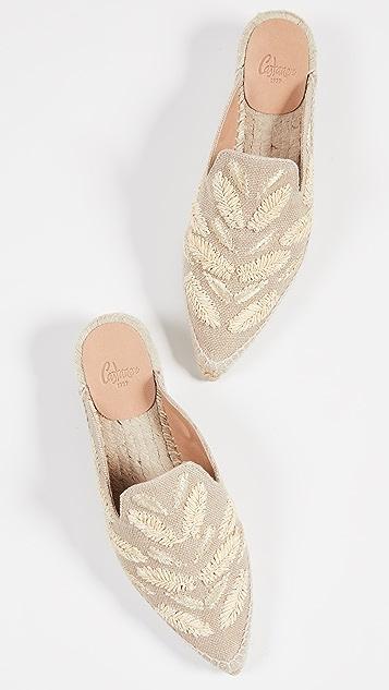 Castaner Rosa 穆勒鞋