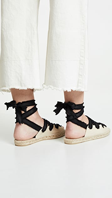 Castaner Pippa 平底凉鞋