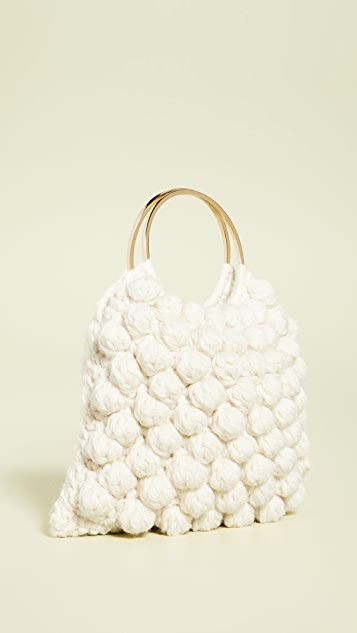 Caterina Bertini 梭织环圈手提袋