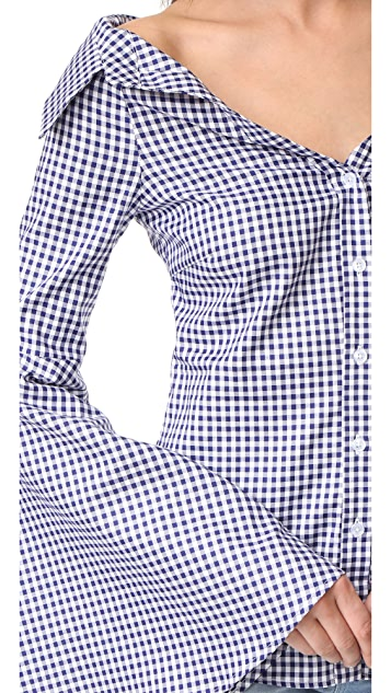 Caroline Constas Persephone 女式衬衫
