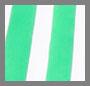 绿色/白色条纹