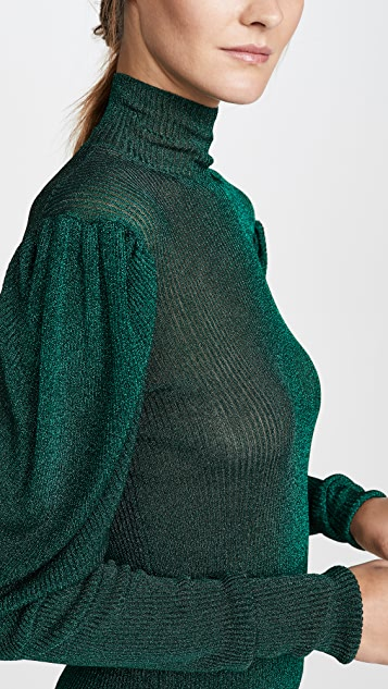 Caroline Constas 长袖高领毛衣
