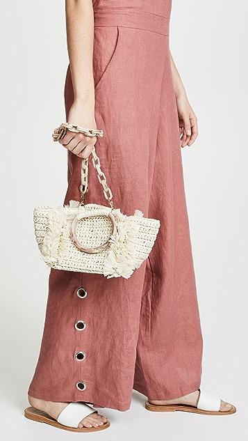 Carolina Santo Domingo Corallina 环形手提袋