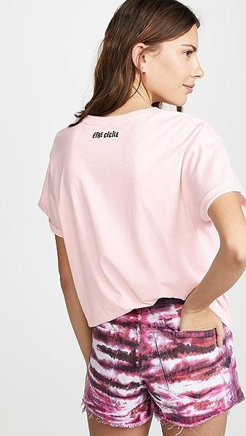 Etre Cecile Disco Pizza T 恤