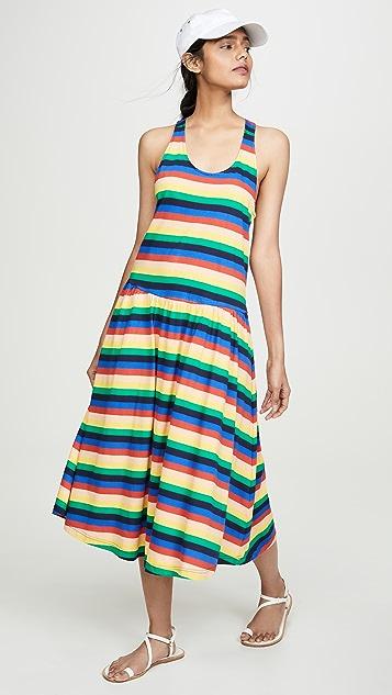 Etre Cecile Rainbow Luna 连衣裙