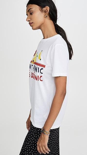 Etre Cecile Don't Panic It's Organic T 恤