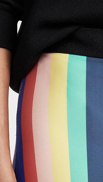 Etre Cecile Rainbow Fifi Bike 短裤