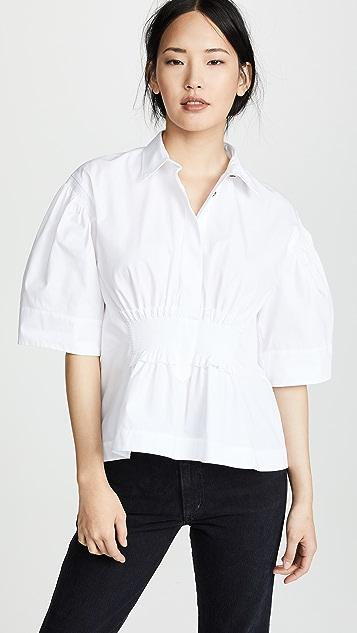 Cedric Charlier 束腰有领衬衫